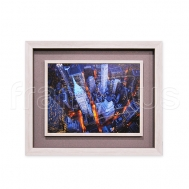 3CD278 Aerial View of Wall Street / S3D 5001